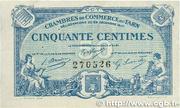 50 centimes - Union des Chambres de Commerce du Tarn [81] – obverse