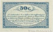 50 centimes - Union des Chambres de Commerce du Tarn [81] -  reverse