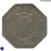 10 Centimes (Albi) – obverse