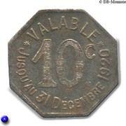 10 Centimes (Albi) – reverse