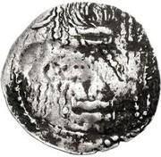 Drachm - Abhimanyu (Gandhara mint) – reverse
