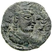 Drachm - Khingila (Lord of Zabul, 2nd ver.) (Hadda-Gandhara mint) – obverse