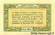 50 centimes - Chambres de commerce d'Alençon et de Flers [61] – reverse