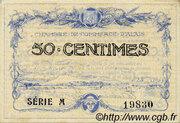 50 centimes - Chambre de commerce d'Alais [Alès, 30] – obverse