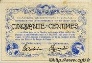 50 centimes - Chambre de commerce d'Alais [Alès, 30] – reverse