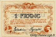 1 franc - Chambre de commerce d'Alais [Alès, 30] – reverse