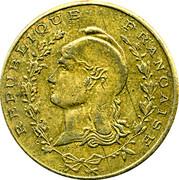 1 Franc (Alhambra - Alger) – obverse