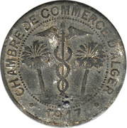 10 Centimes (Alger Chamber of Commerce) – obverse