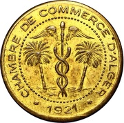 5 Centimes (Alger Chamber of Commerce; Essai) – obverse