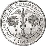 5 Centimes (Alger Chamber of Commerce) – obverse