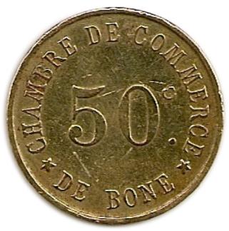 50 centimes chambre de commerce de b ne alg rie numista for Chambre de commerce en anglais
