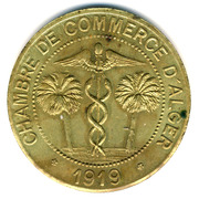 10 Centimes (Alger Chamber of Commerce; Essai) -  obverse