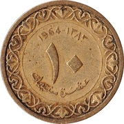 10 Centimes -  reverse