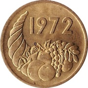 20 Centimes (FAO) – obverse