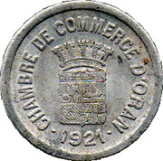 10 Centimes (Oran Chamber of Commerce) -  obverse