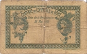 1 Franc CDC Bône -  reverse