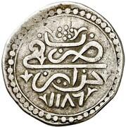 ¼ Budju - Mustafa III -  obverse