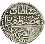 ¼ Budju - Mustafa III -  reverse