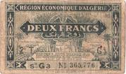 2 francs 1944  2e tirage -  obverse