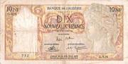 10 nouveaux francs -  obverse