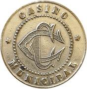 Casino municipal - Constantine [Algérie] – obverse