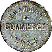 5 Centimes (Bône Chamber of Commerce) -  obverse