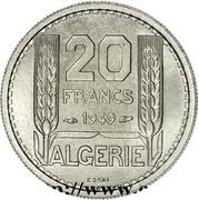 20 Francs (Essai) -  reverse