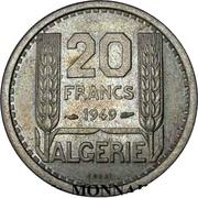 20 Francs (Piedfort Essai) -  reverse