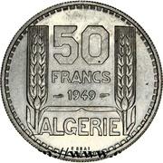 50 Francs (Essai) -  reverse