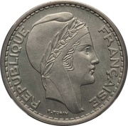 50 Francs (Piedfort Essai) -  obverse