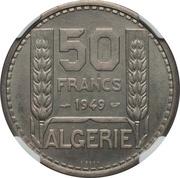 50 Francs (Piedfort Essai) -  reverse