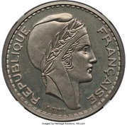 100 Francs (Piedfort Essai) -  obverse
