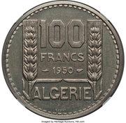 100 Francs (Piedfort Essai) -  reverse
