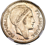 100 Francs (Pattern) -  obverse