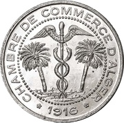 5 Centimes (Alger Chamber of Commerce) -  obverse