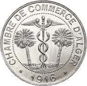 10 Centimes (Alger Chamber of Commerce) -  obverse