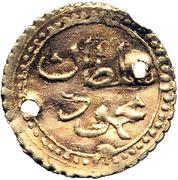 ¼ Sultani - Mahmud II -  obverse