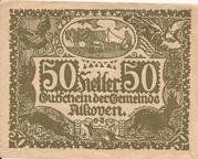 50 Heller (Alkoven) – obverse