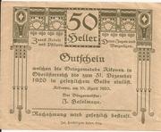 50 Heller (Alkoven) – reverse