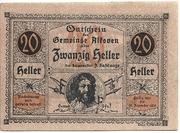 20 Heller (Alkoven) – obverse