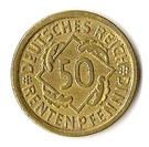 50 Rentenpfennig – reverse