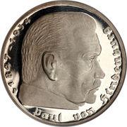 5 Reichsmark (Paul von Hindenburg) -  obverse