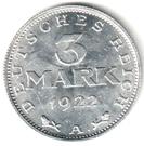 3 Mark – reverse