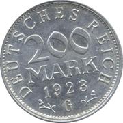 200 Mark -  reverse