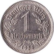 1 Reichsmark -  reverse