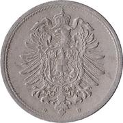 10 Pfennig - Wilhelm I (type 1 - large shield) -  obverse