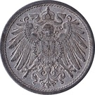 10 Pfennig - Wilhelm II (type 2 - small shield; without mintmarks) – obverse