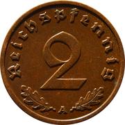 2 Reichspfennig – reverse