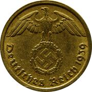10 Reichspfennig -  obverse
