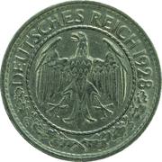 50 Reichspfennig -  obverse
